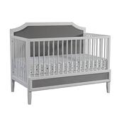 LEVANA Olly 四合一Plus嬰兒成長床-莫蘭迪灰(單床)