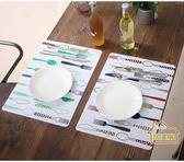 【居美麗】歐式卡通隔熱餐墊 防水防滑桌墊