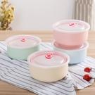 泡麵碗陶瓷泡面碗帶蓋家用 湯碗筷學生宿舍可愛大號吃飯碗餐具飯盒