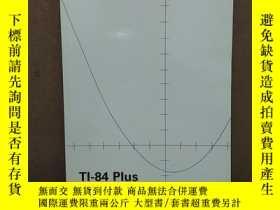 二手書博民逛書店TEXAS罕見INSTRUMENTS TI-84 PLUS TI-84 PLUS SILVER EDITION