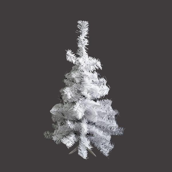 台製豪華型2尺/2呎(60cm)夢幻白色聖誕樹裸樹(不含飾品不含燈)本島免運費