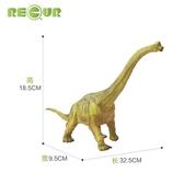 動物模型 軟膠恐龍玩具男孩仿真動物模型小腕龍霸王龍風神翼龍塑膠軟