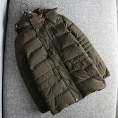 超值精品柜可脫卸帽毛領加厚保暖冬季羽絨服男短款棉衣外套撤柜