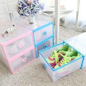 抽屜式 透明愛心鞋子收納盒 單個 鞋子收納盒 抽屜鞋盒 鞋盒 DIY組裝 組合鞋櫃 透明鞋盒 鞋櫃