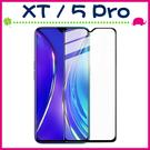 realme XT realme 5 Pro 滿版9H鋼化玻璃膜 3D曲屏螢幕保護貼 全屏鋼化膜 全覆蓋保護貼 防爆 (正面)