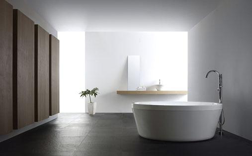 【麗室衛浴】國產 獨立式出水的立式浴缸淋浴龍頭 LS-2608