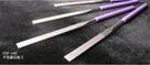 MIRACLE 平型鑽石銼刀 FDF-140S 4支組