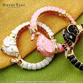 手環 正白K飾「異國風大象」精緻俏皮風