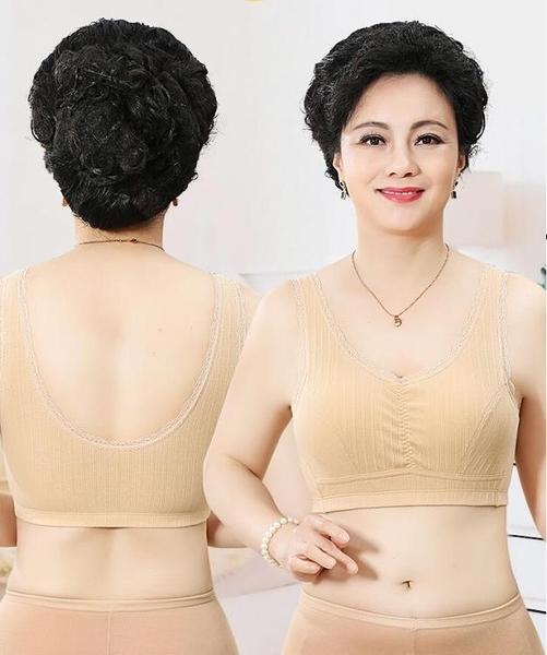 中年媽媽內衣女胸罩