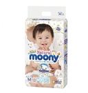 Natural Moony 日本頂級版紙尿褲 黏貼型 M 號 - 184片(46片4包)