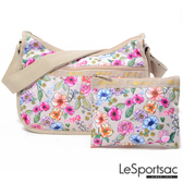 LeSportsac - Standard側背水餃包/流浪包-附化妝包 (日光花園) 7520P F654