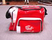 「野球魂中壢店」--特價!「SA」個人裝備袋(EQ-1,側袋型,紅色)