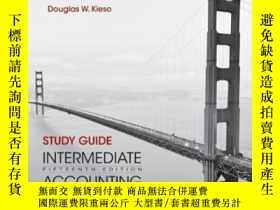 二手書博民逛書店Study罕見Guide To Accompany Intermediate Accounting Volume
