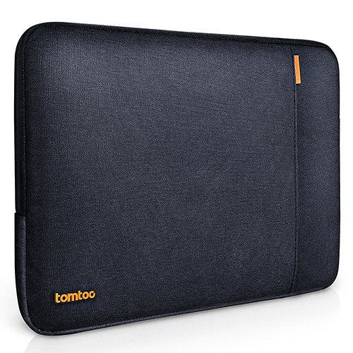 【美國代購】Tomtoc 360° 防摔保護 Laptop Sleeve for MacBook Air/Pro 13.3 inch (2012 Late-2016 Early)-黑藍色