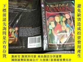 二手書博民逛書店原版英法德意等外文罕見A World Full of WOMEN 1996年 小16開平裝Y274511 WA