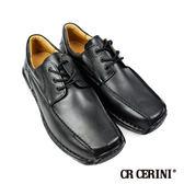 【CR Cerini】綁帶方頭休閒便鞋 經典黑(34111-BL)