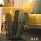 北歐四季沙發墊布藝家用防滑坐墊通用皮沙發套罩巾全純棉簡約現代 LN1342 【雅居屋】