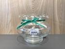 【特大花口 18cm*15cm*11cm】水晶球缸玻璃 造型 圓缸水族箱 鬥魚缸.金魚 魚事職人