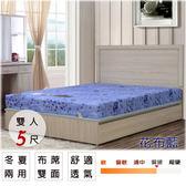 床墊【UHO】卡莉絲名床-2.3mm高碳鋼5尺雙人床(蓆面)