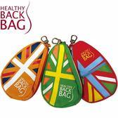 [好也戶外] Healthy Back Bag 英倫國旗零錢包 橘/綠(七折出清)