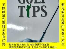 二手書博民逛書店GOLF罕見TIPS;針對業餘愛好者的高爾夫手冊18060 鄭榮