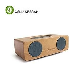 新竹【超人3C】免運 小型 輕巧 實木 簡約風格CELIA&PERAH M2 無線藍牙高傳真實木音響採用特製釹鐵硼