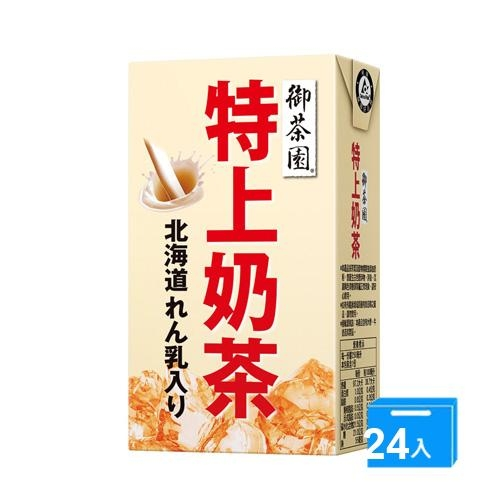 御茶園特上奶茶250mlx24【愛買】