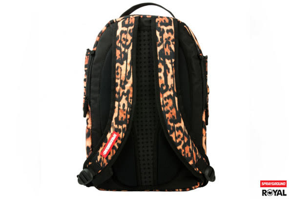 SPRAYGROUND 新竹皇家 LEOPARD DRIPS WINGS 豹紋點滴 翅膀(可拆式) 潮流 後背包 NO.H1523