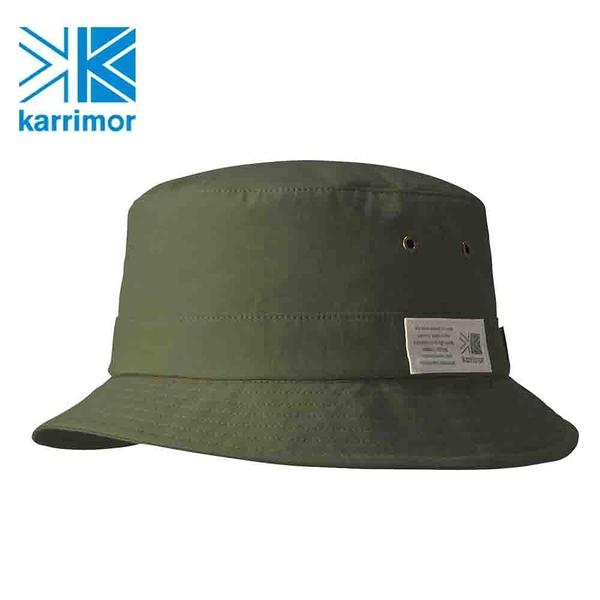 日系[ Karrimor ] grab hat 抗UV防潑水漁夫帽 橄欖綠