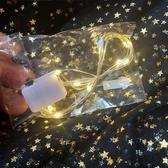 聖誕燈 圣誕裝飾燈蛋糕禮盒花環貓耳朵頭箍銅線燈串LED元旦暖白發光燈線