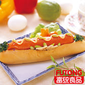《此商品採預訂制》【富統食品】招牌大熱狗2條(冷藏品)