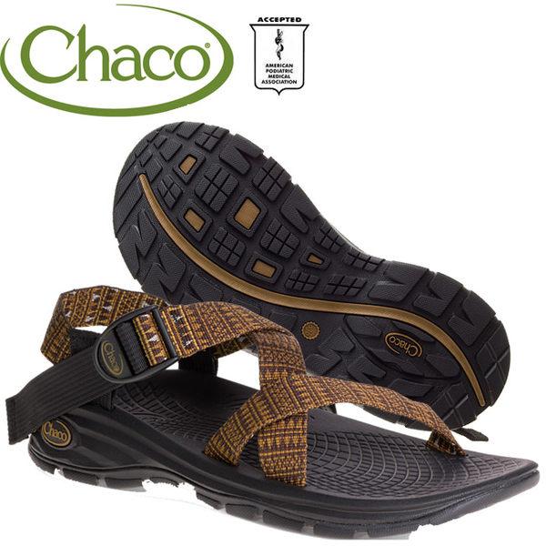 Chaco EZM01-HC45古銅點 男冒險旅遊涼鞋-Z/Volv標準款