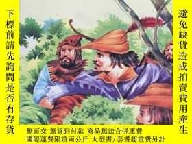 二手書博民逛書店Robin罕見Hood And His Merry Men 精裝插圖.Y381852 霍華德•派爾 看圖 出