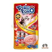 【寵物王國】ToroToro寵愛肉泥包(鮪魚+鮭魚口味)(15g*5入)
