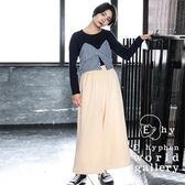 ❖ Spring ❖ 【SET ITEM】層次拼布上衣+腰際鬆緊寬褲裙 - E hyphen world gallery