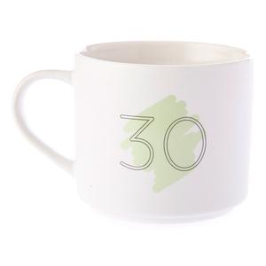 HOLA 數字馬克杯 30號 380ml 30th Thirtieth