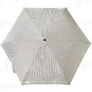 《真心良品》三折日式條紋傘