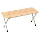 [Snow Peak] 折疊板凳-竹板標準 (LV-065T) 秀山莊戶外用品旗艦店