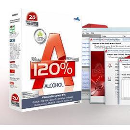 Alcohol 120% 虛擬光碟工具(繁體中文) 終身維護 下載版含安裝備份光碟