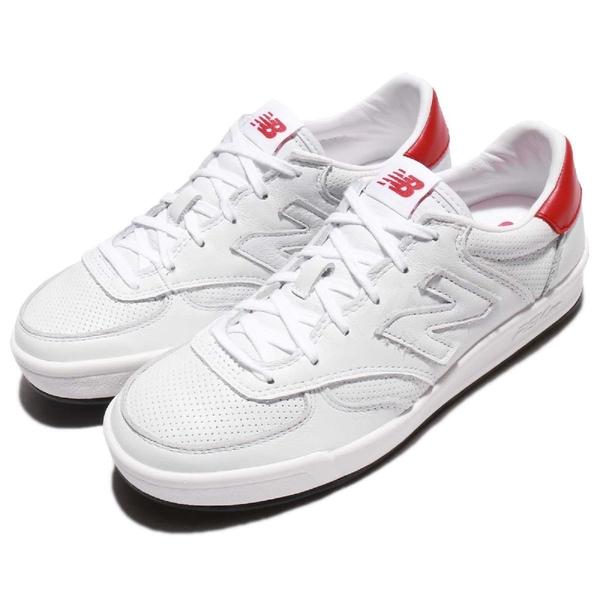 New Balance 休閒鞋 CRT300 NB N字鞋 白 紅 低筒 平底鞋 運動鞋 男鞋 女鞋【ACS】 CRT300LDD