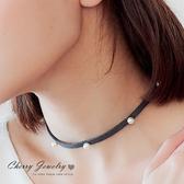排列珍珠造型頸鍊 【櫻桃飾品】【10519  】