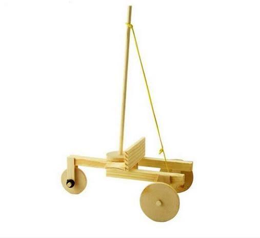 【發條車】 彈力車 橡皮筋動力車 科展制作 慣性 發條 玩具
