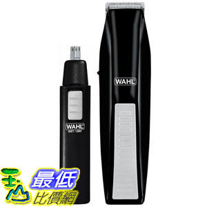 [104美國直購] Wahl 5537-1801 Cordless Battery Operated Beard Trimmer 刮鬍刀 鼻毛器 修容套件組