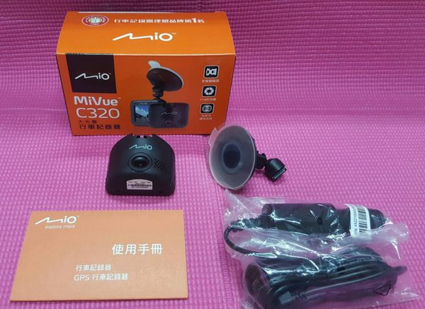 MIO MIVUE C320 【送32G】福利品 保固半年 行車記錄器/C328
