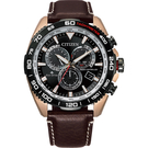 CITIZEN 星辰 光動能萬年曆電波計時手錶-47mm CB5038-14E