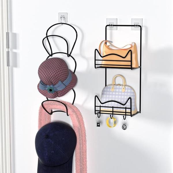 包包收納掛袋整理架掛墻寢室衣柜門后包包掛架置物架學生宿舍神器 滿天星