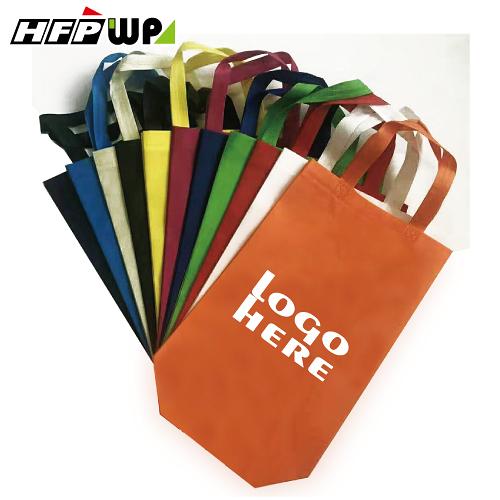 【1000個含1色印刷】 超聯捷 20x36x10cm直式不織布袋 客製 宣導品 禮贈品 S1-253610-OR