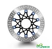 機車兄弟【RPM KAWASAK  3D 浮動通風碟 300mm 】