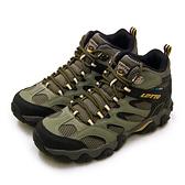 LIKA夢 LOTTO 專業多功能防水郊山戶外健行登山鞋 REX ULTRA系列 綠黑棕 2761 男