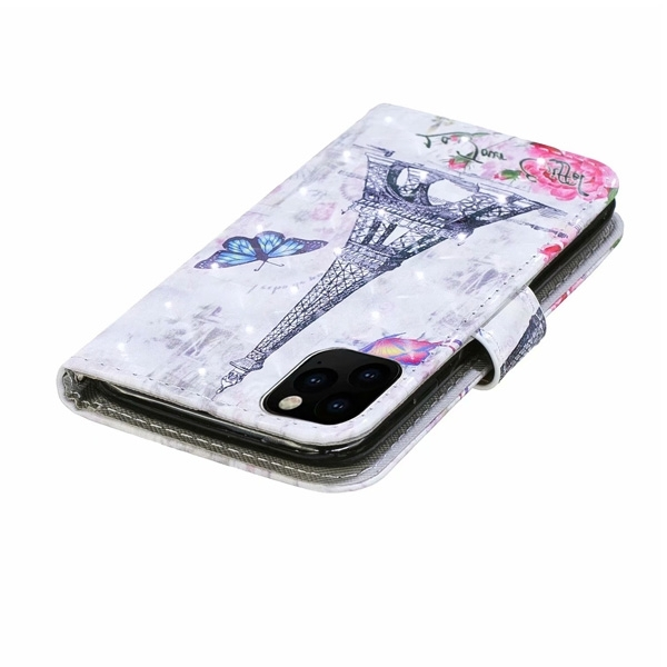 蘋果 iPhone 12 12 Pro 12 Pro Max 手機皮套 掀蓋殼 插卡 支架 可掛繩 保護套 CY-3D彩繪皮套